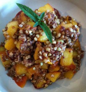 Crunchy Peach Cobbler2